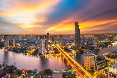 vue bangkok et chao praya