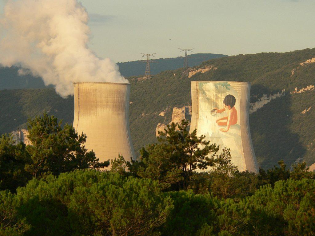 centrale nucléaire française en fonctionnement