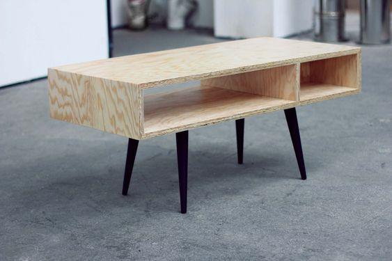 Comment Fabriquer Une Jolie Table Basse ?