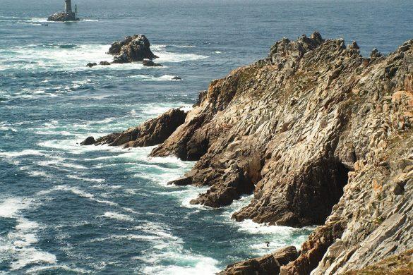 falaise océan atlantique