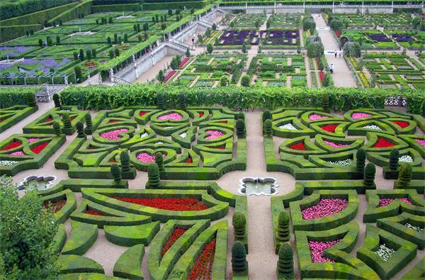 jardin à la francaise