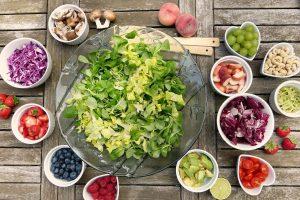 ingrédients pour salade composée
